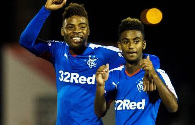 Loan Rangers: The 2 youngsters linked up brilliantly.