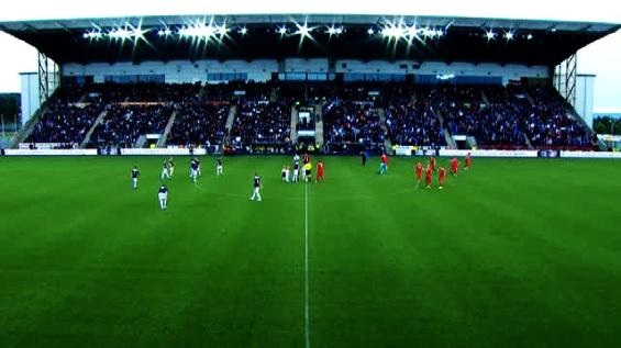 Falkirk v Rangers full house